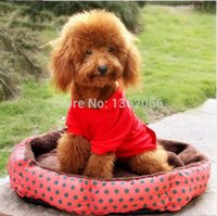 Wholesale Soft Fleece kennel Pet bed Cat Warm Bed House Plush Cozy Nest Pad Dog Warm Cushion bed