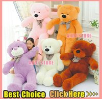big teddy bear - New Teddy Bear Colour Dolls Toy cm cm cm cm cm Big Giant Plush Toys Each Feast To Friend Favorite Gift Child s Gift Shop