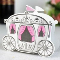 Wholesale Cinderella quot Enchanted Carriage quot Wedding Favor Boxes Wedding Candy Box Casamento Wedding Favors And Gifts