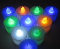 best battery candles - New LED Smokeless flameless Flickering Battery Candles Tea Light Christmas For Promotions Best Price