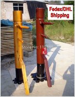 Wholesale FEDEX DHL Retail Patent rotatable column Wing Chun wooden dummy Customized for height and color Mook Yun Jong