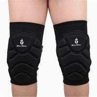 Wholesale WOLFBIKE Two Pieces Kneepad Skiing Goalkeeper Soccer Football Extreme Sports knee pads Protect Cycling Knee Protector BC314