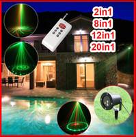 Wholesale HOT laser stage light projector dj lighting water proof christmas laser lights dj lights stage lighting