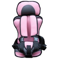 Wholesale Updated Version Thickening Sponge Plus Size Kids Car Seats Pink Gray Color Baby Car Seat Baby Seat Safety Child Car Seats