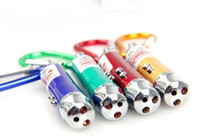 Wholesale 3 in Multi function LED Red Laser Pointer Pen Capacitive Stylus Touch Screen Pen LED Flashlight Keychain