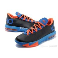 baseball team photos - Thunder Away Black Metallic Silver Team Orange Photo Blue KD basketball shoes cheap Outdoor Shoes