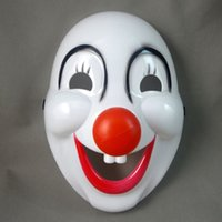 Halloween masks clown - Lovely PVC Clown Halloween Mask for Holiday Party Art Performances for Adults Cosplay Props