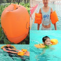 Wholesale L109Adult Children Inflatable Swimming Twirls Float Water Swimming Armbands Safety