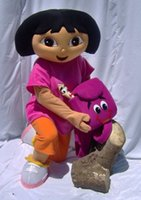 Wholesale Dora mascot apparel character Dora dress