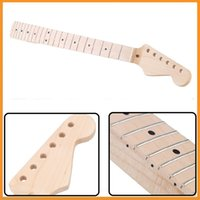 Wholesale Top Quality Frets Replacement Guitar Maple Neck Fingerboard for ST Electric Guitar musical instruments parts