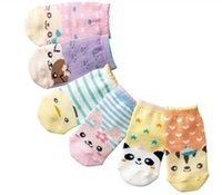 animal walking patterns - 6Pairs Lovely Animal Pattern Available Anti slip Walking Socks Baby Sock Kid Gift Christmas Children Retail