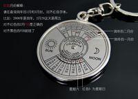 bag english flag - Creative English calendar creative personality car key chain bag pendant Ms M custom gift the gift