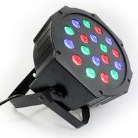 Wholesale DHL shipping RGB Colorful LED Par Light with LED light DMX512 Disco DJ Stage Lighting Party Light waitingyou