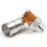 gas motor scooter - Aluminum Oil Filters Gas Fuel Filter for Dirt Pit Bike ATV Motard Motor Moped Scooter Buggy Motorcycle order lt no track