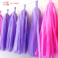 decorative bags - inch cm Bag Tissue Paper Tassels Garland DIY Wedding Decoration Birthday Event Gift Pack