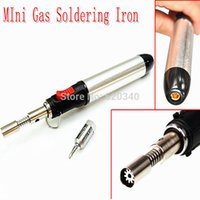 Wholesale Gas Soldering Iron HT Gas Soldering Iron Torch Tool Tip use Butane Gas Pen Soldering Iron order lt no track