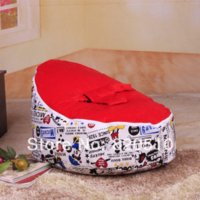 bean bag chair filling - New Arrived Bestselling Baby Bean Bag Chair Cover and Bed for Infants Toddlers Kids baby shower new gift No filling