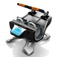 Wholesale Freesub Mini Double Station Mug Heat Press Machine Sublimation Heat Transfer Machine for Cup Printing ST W V V