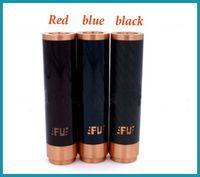 magnets for - Hottest Fuhattan Mod Red Copper E Cigarette Machanical Mods Clone USA Manhattan Mod Carbon Fiber Mods Magnet Bottom fit for RDA RBA TANKS