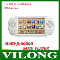 Wholesale New GB Inch Large Screen MP5 Game Player MP4 Player MP3 Player Biulding Games charge