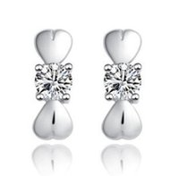 Wholesale Combination Stud Earrings Korea Korean version Crystal earrings