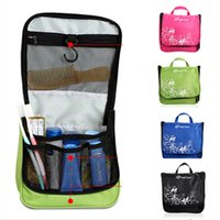 Wholesale 4L Colors Outddor Toiletry Kits Wash Bag Cosmetic Waterproof Compact Portable Travel Trip Large capacity Hierarchical Grid Bags