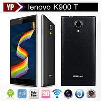 unlocked t-mobile cell phones - Original Cell Phones Lenovo K900 T MTK6592 Octa Core Smartphone Mobile Phone quot MP IPS Android Unlock GSM WCDMA G hot sale