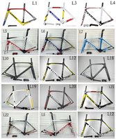 Wholesale HOT Look carbon road bike frame High Quality full carbon bike frame look PF30 defalut BB30 frame color