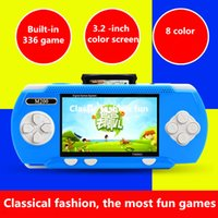 Wholesale Handheld Game Player mini game video games console inch Rechargeable TV out for children