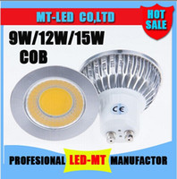 cob led - x2 led lights W COB GU10 GU5 E27 E14 MR16 Dimmable LED Sport light lamp High Power bulb More than degrees DC12V AC V V V