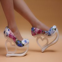 appeal shoes - New spring cm high slope documentary super high heel shoes sexy club T stage appeal for women s shoes