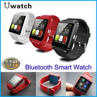 Wholesale Bluetooth Smart Watch U8 Phone Mate U Wrist watch for iPhone S S Samsung S6 S5 Note HTC Android Phone Smartphone