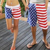 american flag boardshorts - New Stars Striped American Flag Swim Mens Womens Trunks Swimming Swimwear Boardshorts Trunks Sports Beach Swim Shorts