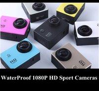 Wholesale Waterproof Sport DVR P HD Car DVR SJ4000 Camera Single Shot Dash Camera with Accessories original mini camcorders gopro hero