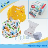 disposable baby diapers - Printed PUL Teen Disposable Baby Diaper One Size Gift Box Packing