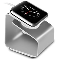 metal bracket - Apple Watch Stand Portable iWatch Metal Charging Stand Bracket Docking Station Stock Cradle Watches Holder