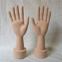 bendable mannequins - Realistic Mannequin Hand finger bendable Display Gloves Jewelry Ring Bracelet Watch hand jewelry Holder Stand