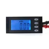 Wholesale AC V A Power Meter Monitor Digital LCD AC Multifunction Voltage Current Energy Power Working Time Meter Built in Shunt