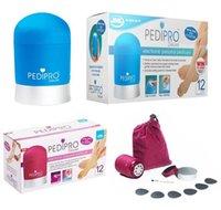 Wholesale Pedi Pro PediPro Deluxe Electric Callus Pedicure Pedi Foot File Hard Skin Remover Kit Set DHL