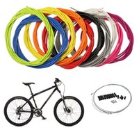 achat en gros de vélo fil de câble de frein-Jagwire VTT vélo vélo dérailleur jeu de câbles de frein kit tuyau / frein transmission levier de vitesses ligne de câbles groupes vélo accessoires