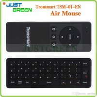Wholesale Tronsmart TSM Air Mouse GHz Wireless Keyboard Game Remote Controller for Laptop Android Tablet PC TV Box Russan or English Keyboard