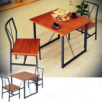 bar chair and table - LOFT American country retro wrought iron tables and chairs leisure suit casual restaurant cafe bar furniture package