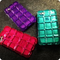 apple ice cube - ICE BLOCK Clear TPU Case For iPhone S Plus ALCOCO CUBE Back Skin Cover with Necklace Chain
