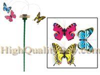 Wholesale New Fluttering Solar Powered Butterfly Ground Sticks Home Garden Decoration