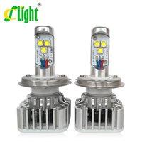Wholesale 2x Plug Play W LM K H4 H4 HB2 H7 H8 H9 H11 HB3 HB4 CREE LED BULBS CAR DRL Fog HEADLIGHT Lamp