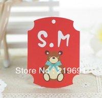 baby logos designs - baby cloth tag customzied design hang tag stock customize logo moq