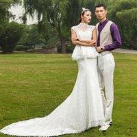 Cheap custom made Best Sheath Wedding Dresses