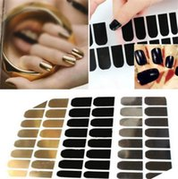 art in metal - New Arrivals in a pack as a set Nail Art Stickers Decals Wraps Manicure Decorations Metal Foils Beauty TX269