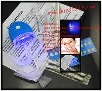shade guide - 100Packs ml Whitening Gel Teeth Whitening Pen Trays LED Light VE Swab shade guide Kit MY370