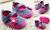china shoes children - Flower toddler shoes soft baby shoes M children shoes princess casual shoes floor walker shoes china cheap kids shoes pairs C